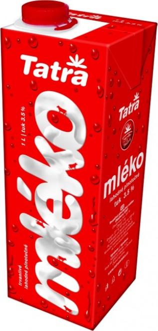 Tatra mléko plnotučné SWIFT 1l (6 ks)