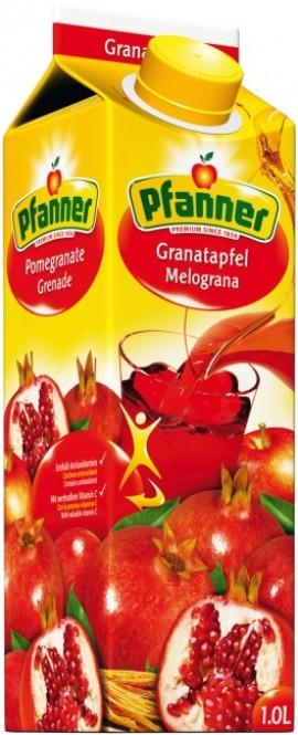 Pfanner Granátové jablko 1l
