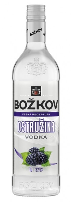 Vodka Božkov Ostružina 1l