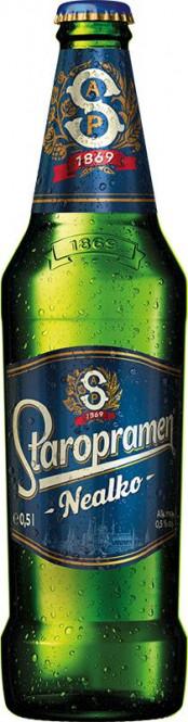 Staropramen nealko 0,5l - vratná lahev