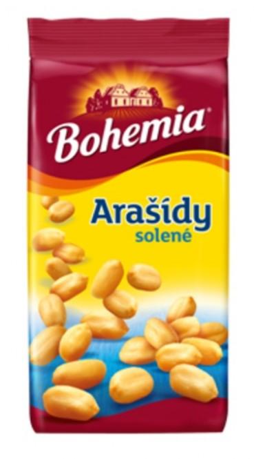 Arašídy Bohemia solené 400g