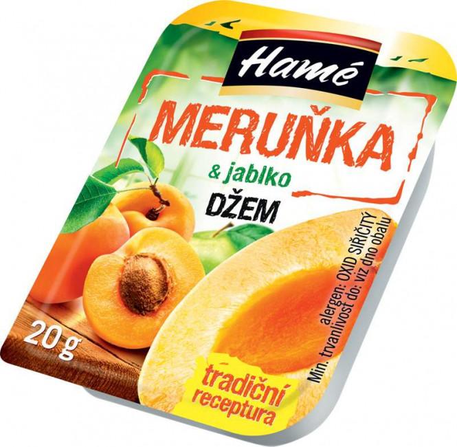 Džem meruňka 20g - Hamé