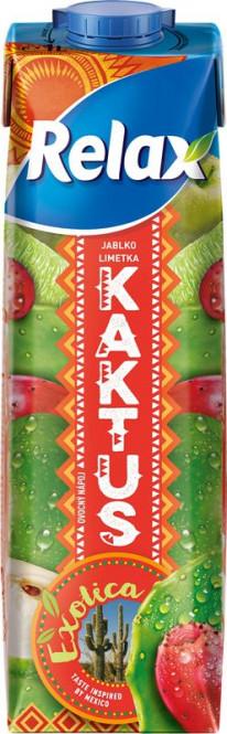 Relax Exotica kaktus - limetka - jablko 1l