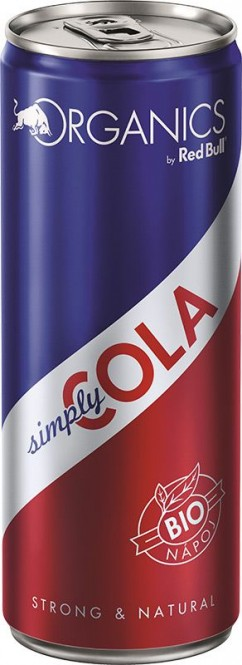 Red Bull Organics Simply Cola 0,25l plech