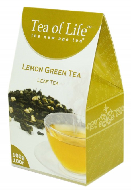 Tea of Life Lemon Green Tea 100g